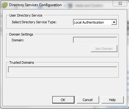 dom2 Joining ESXi to a Domain