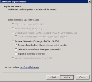 cert5-300x268 Exporting a Godaddy wildcard certificate from IIS to Tomcat