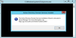 dcpromo1-300x151 Windows 8 Server Beta Active Directory ADDS Installation