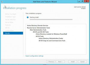dcpromo10-300x219 Windows 8 Server Beta Active Directory ADDS Installation