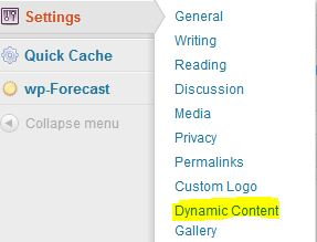DCG2 Adding a content slider to your wordpress blog
