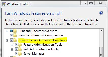 RSAT3 How to Install Remote Server Administration Tools Windows 7
