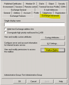 ex2k32-243x300 How to allow a user to open another user's mailbox Exchange 2010 and Exchange 2003
