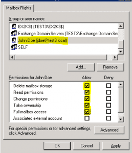 ex2k35-258x300 How to allow a user to open another user's mailbox Exchange 2010 and Exchange 2003