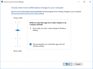 win10uac01-300x222 Windows 10 Edge can't be opened using the built-in administrator account