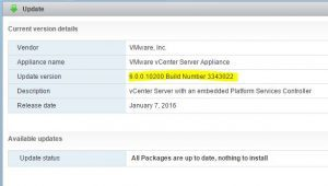 vcupdates10-300x170 Updating vCenter VCSA and update manager to 6.0 U1b