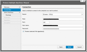 agentless02-300x181 Agentless protection Rapid Recovery 6.0.1