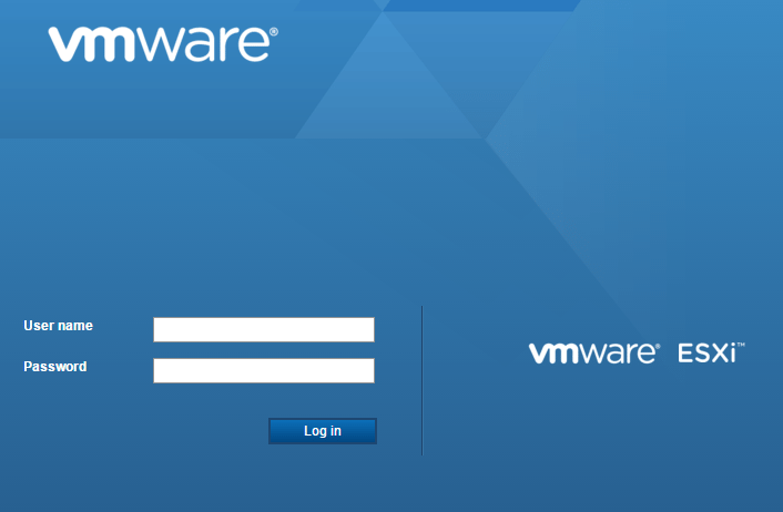 hostui01a VMware ESXi 6.0 Update 2 Host Client