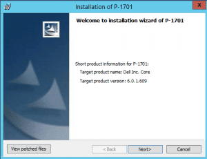 patch_01-300x230 Upgrade AppAssure 5.4.3 to Rapid Recovery 6.0.1