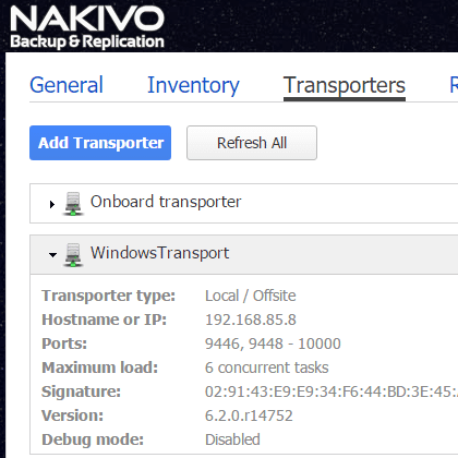 nakaz08 Nakivo Backup & Replication Backup to Azure