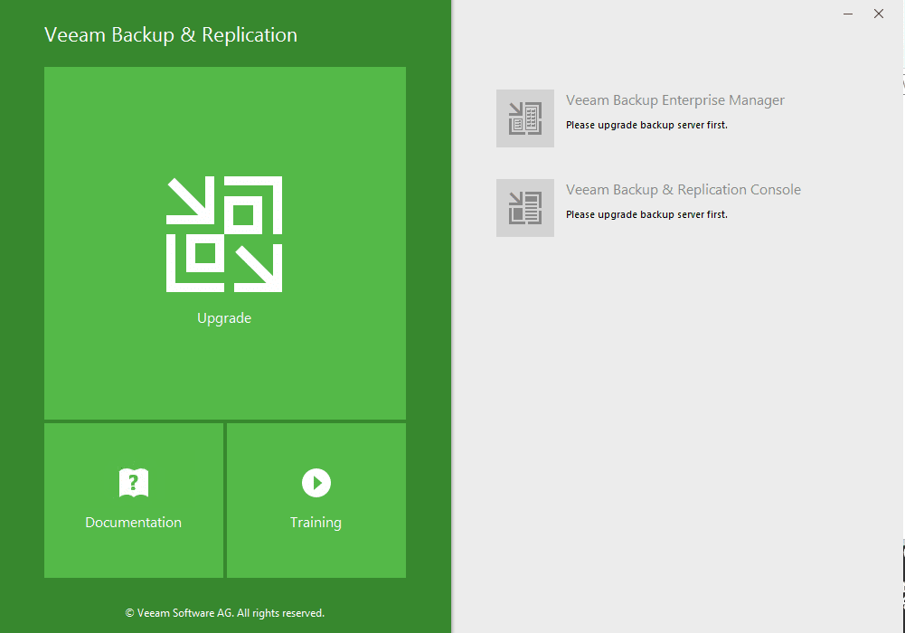 Upgrade Veeam Backup and Replication 9 0 to 9 5 - Virtualization Howto