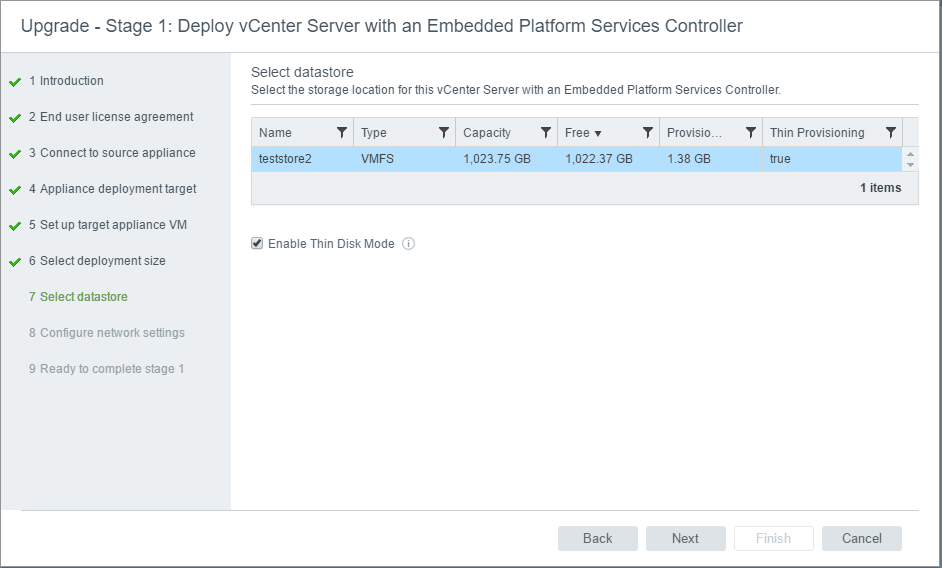 vc65up11 Upgrade VMware vCenter VCSA appliance 6.0 to 6.5