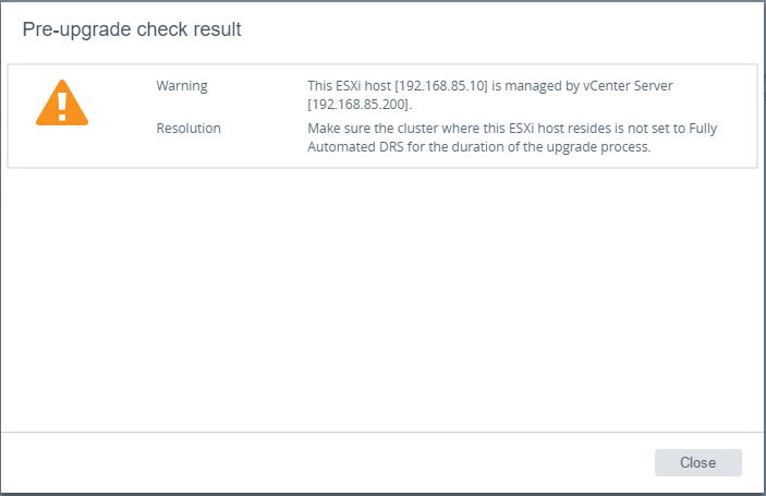 vc65up21 Upgrade VMware vCenter VCSA appliance 6.0 to 6.5
