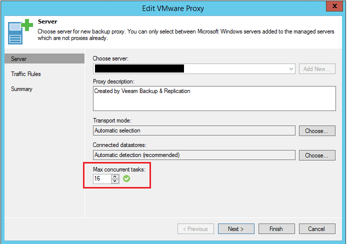 veeamperf03 Configure Veeam Backup and Replication for optimal performance