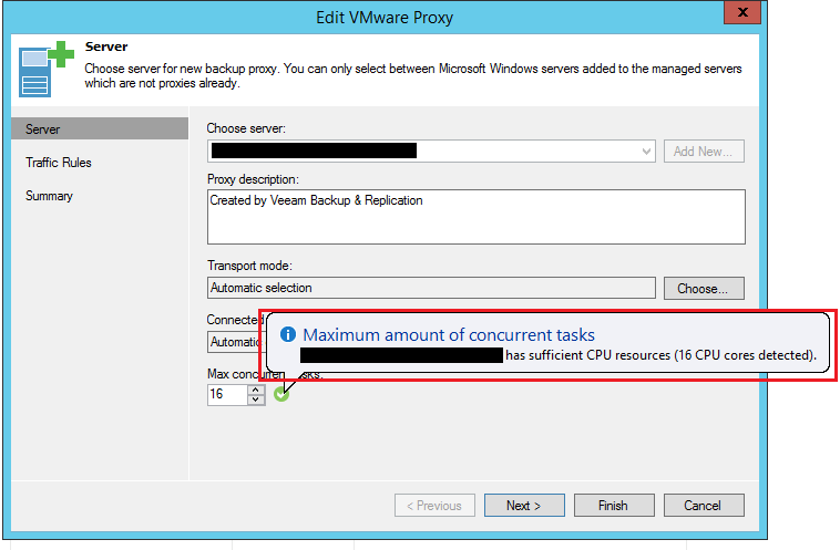 veeamperf04 Configure Veeam Backup and Replication for optimal performance