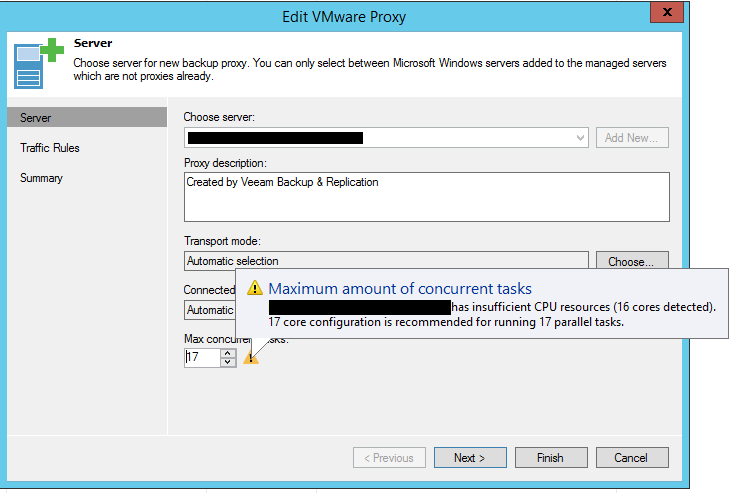veeamperf05 Configure Veeam Backup and Replication for optimal performance