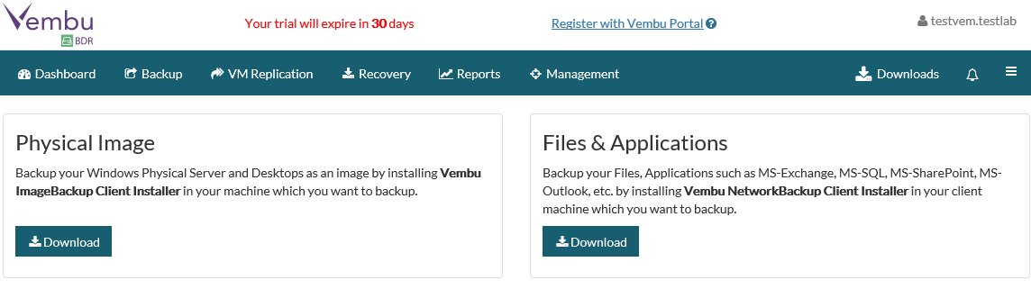 vemafford04 Vembu BDR Suite - The all-in-one backup solution at affordable cost for all