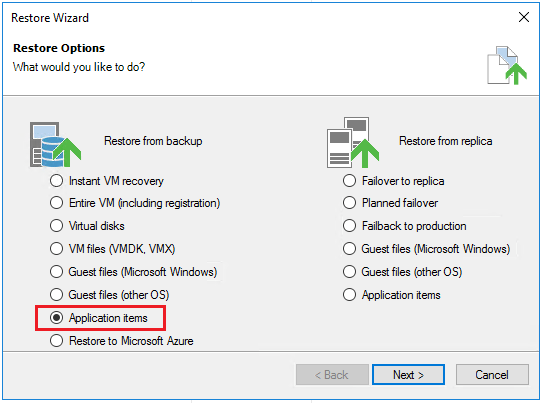 vbr_ad01 Veeam Restore Windows Server 2016 Active Directory Objects