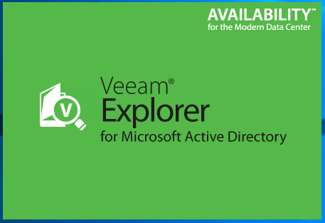 vbr_ad07 Veeam Restore Windows Server 2016 Active Directory Objects