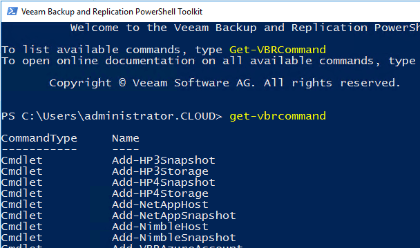veeamcon07 Install Veeam 9.5 Backup and Replication Remote Console with PowerShell Snapin