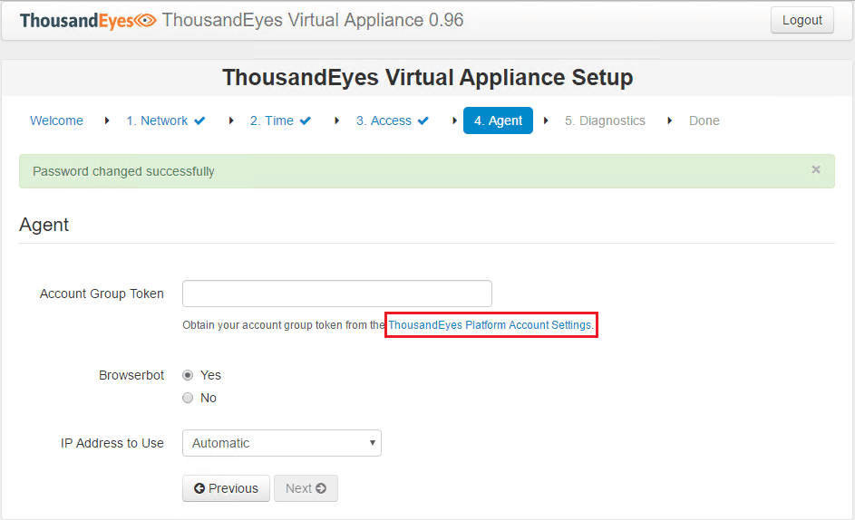teagent04 Installing and Configuring Thousandeyes Enterprise Agents