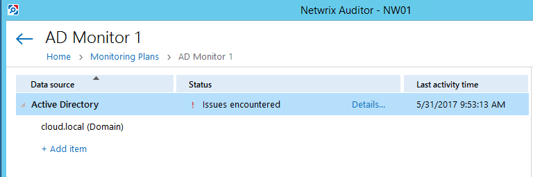 netwrixaud21 Monitor Active Directory Changes with Netwrix Auditor