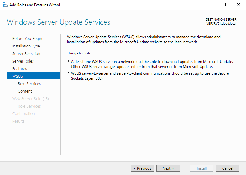 wsus16_07 Install and Configure Windows Server 2016 WSUS