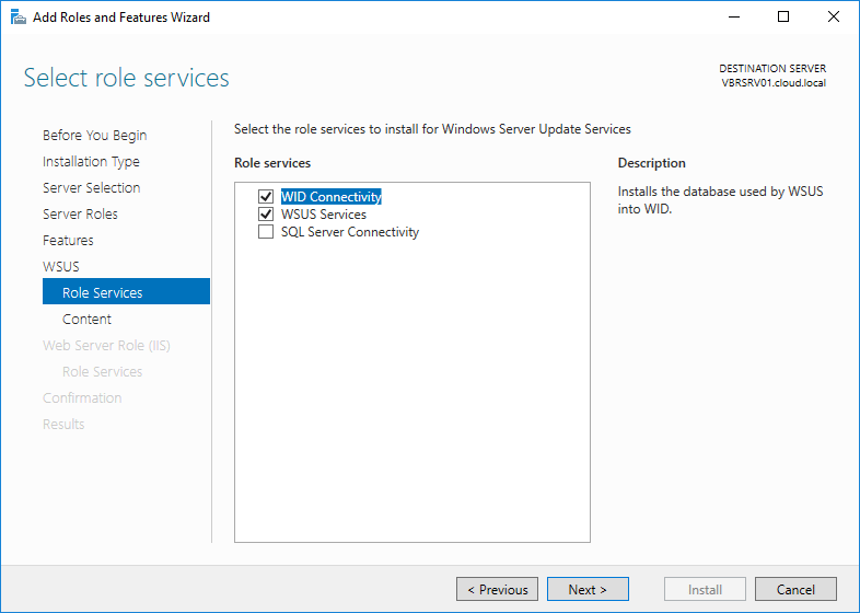 wsus16_08 Install and Configure Windows Server 2016 WSUS