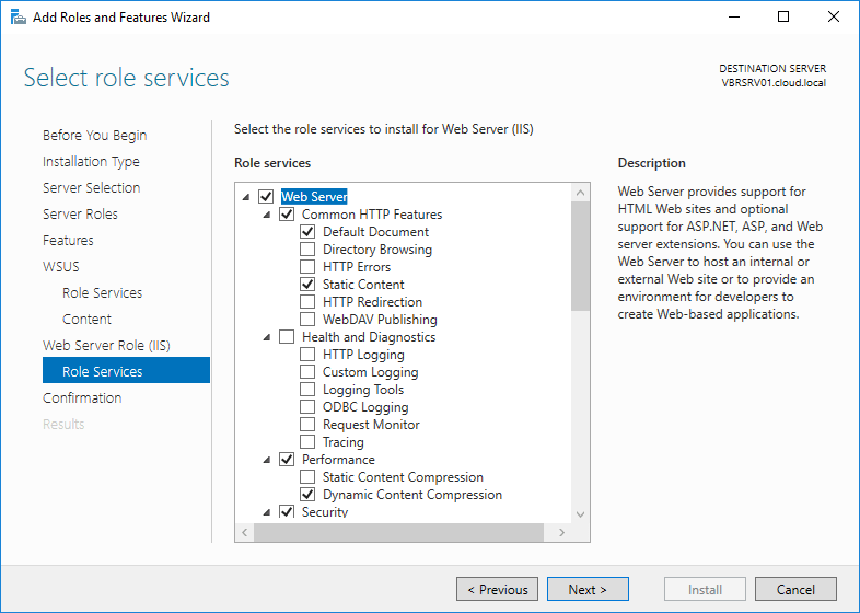 wsus16_11 Install and Configure Windows Server 2016 WSUS