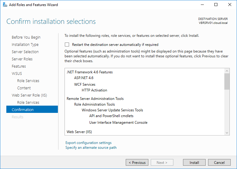 wsus16_12 Install and Configure Windows Server 2016 WSUS