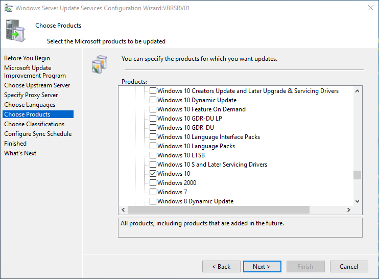 wsus16_24 Install and Configure Windows Server 2016 WSUS
