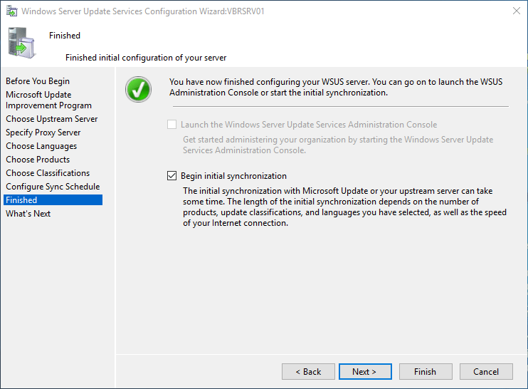 wsus16_27 Install and Configure Windows Server 2016 WSUS
