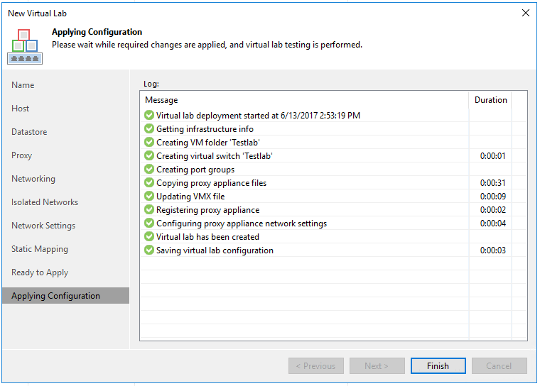 veaamlab12 Create Veeam Isolated Sandbox Virtual Lab
