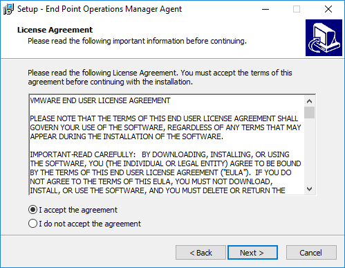 09-vropsend Install vRealize Operations Manager 6.6 Endpoint Agent