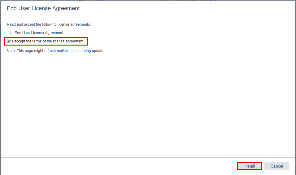 Accept-the-terms-of-the-license-agreement-for-Update-1 Upgrading VMware vSphere VCSA Appliance to 6.5 Update 1