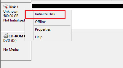 hvclusgui09 Add iSCSI Shared Storage in Windows Server 2016