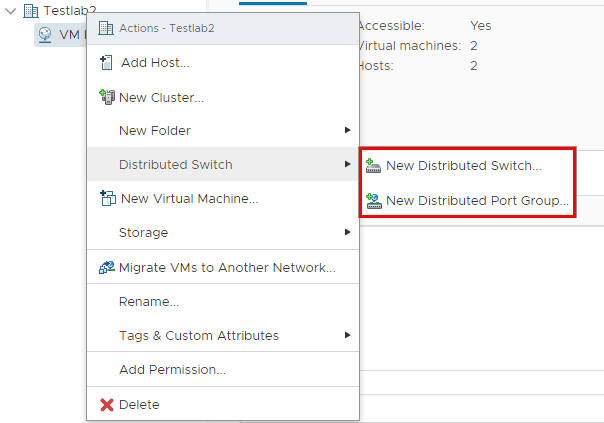vSphere-6.5-Update-1-HTML5-web-client-can-create-Distributed-Switches Upgrading VMware vSphere VCSA Appliance to 6.5 Update 1