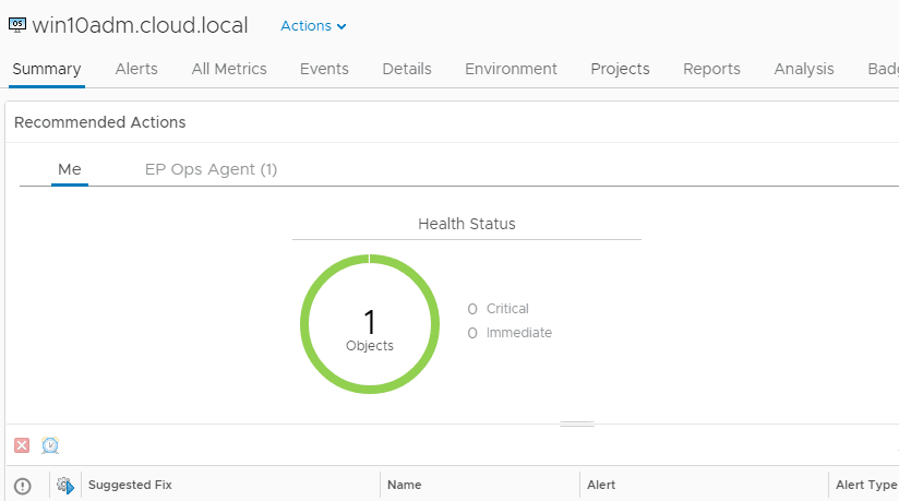 vropsend17 Install vRealize Operations Manager 6.6 Endpoint Agent