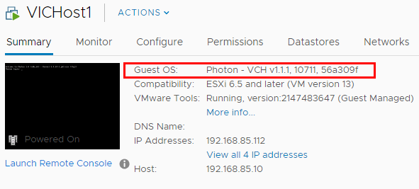 Note-the-vSphere-Integrated-Containers-VCH-host-is-running-PhotonOS