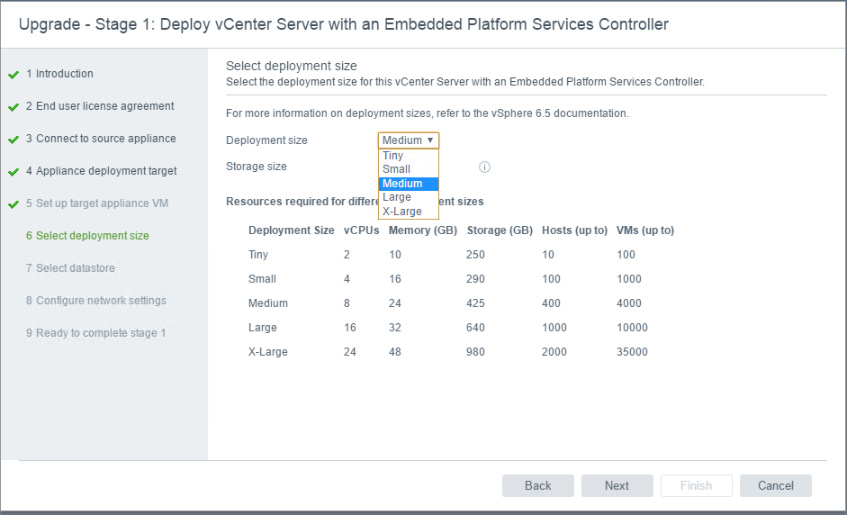 Sizing-options-with-VCSA-upgrade