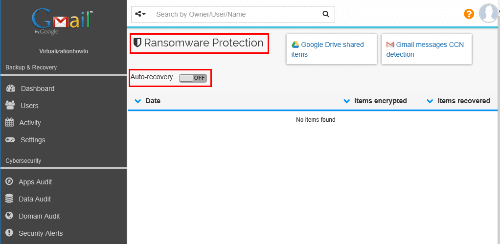 Spinbackup-Ransomware-Protection-with-auto-recovery Spinbackup G Suite Backup and Security Configuration