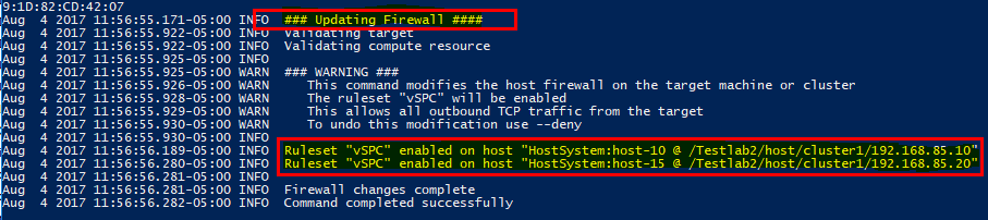 Using-vic-machine-to-update-ESXi-firewall-settings