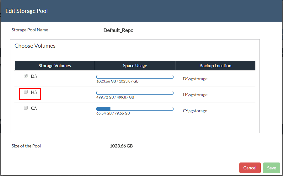 Vembu-BDR-Suite-3.8-Storage-Pooling-before-adding-space Vembu BDR Suite 3.8 Released with New Features