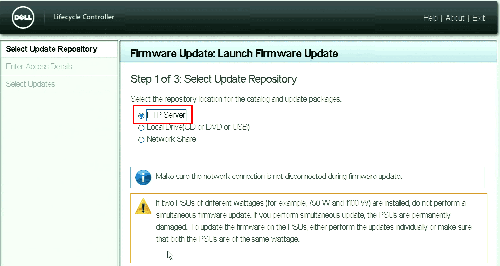Dell-Lifecycle-Controller-Firmware-updates Upgrade Dell VMware ESXi 6.0 Cluster to 6.5 U1 with VUM