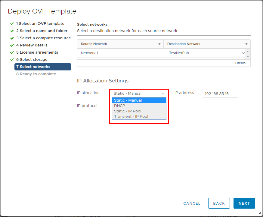 IP-configuration-settings-for-vSphere-HTML5-appliance New VMware vSphere 6.5 HTML5 Web Client Features with Fling