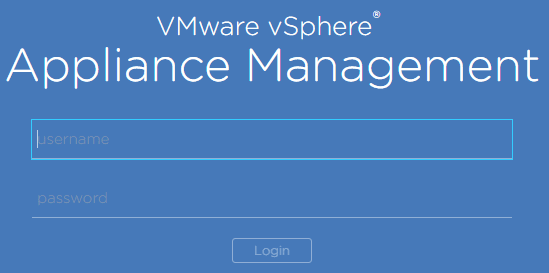 Login-to-vCenter-VCSA-VAMI-interface Monitor and Troubleshoot VMware vCenter Server VCSA Performance
