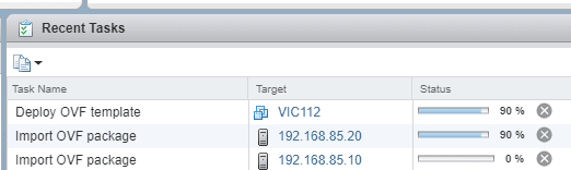 vCenter-task-to-deploy-VIC-OVA Upgrade VMware vSphere Integrated Containers VIC Appliance