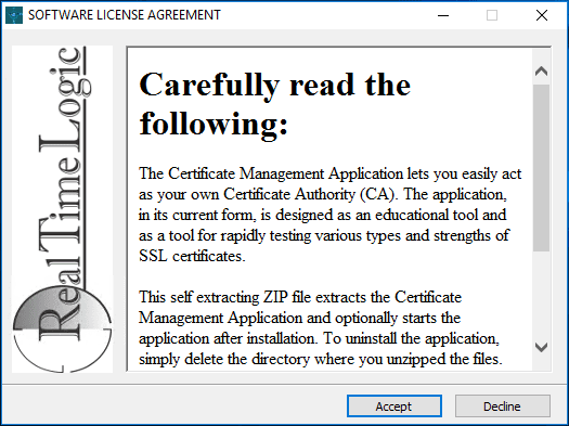 Beginning-the-Certificate-Managemet-Tool-installation
