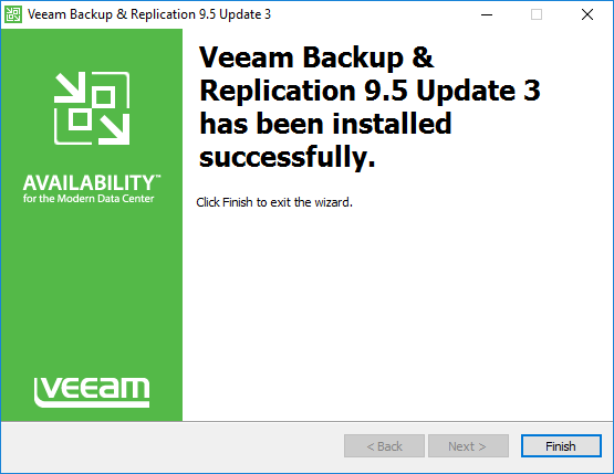 Veeam-Backup-and-Replication-9.5-Update-3-installation-finishes Veeam Backup and Replication 9.5 Update 3 Released New Features