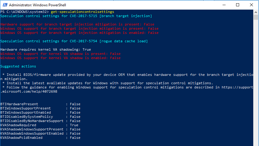 Microsoft-released-a-new-PowerShell-module-for-checking-speculative-execution New Intel Design Flaw is VMware Affected?